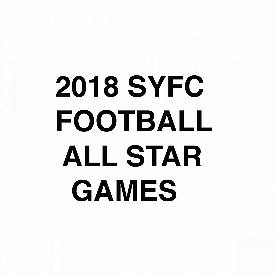 2018 SYFC ALL STAR GAMES